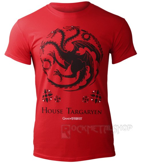 koszulka GAME OF THRONES - HOUSE TARGARYEN