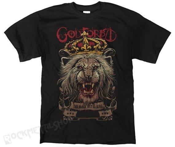 koszulka GOD FORBID - BLACK METAL KING