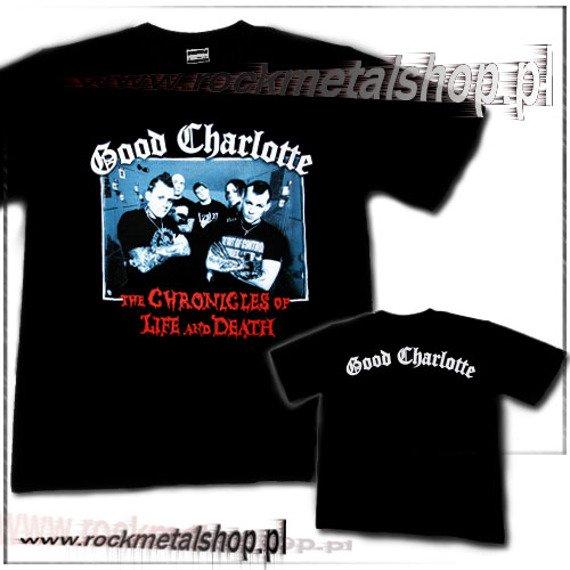 koszulka GOOD CHARLOTTE - THE CHRONICLES OF LIFE AND DEATH