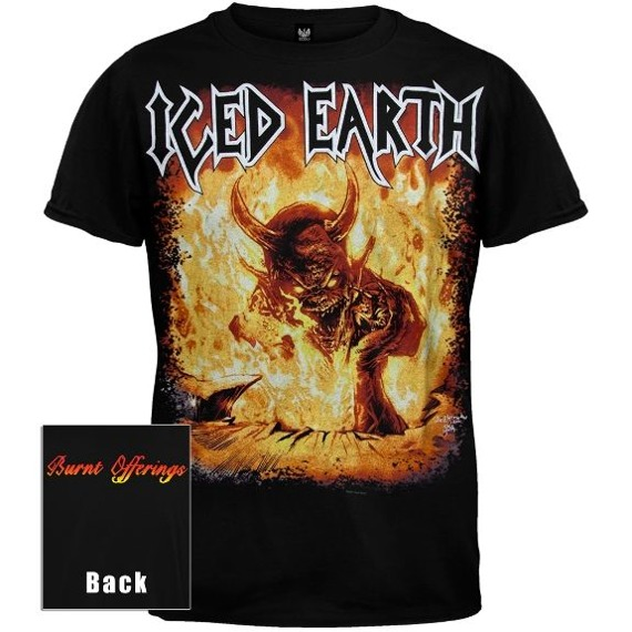 koszulka ICED EARTH - BURNT OFFERINGS