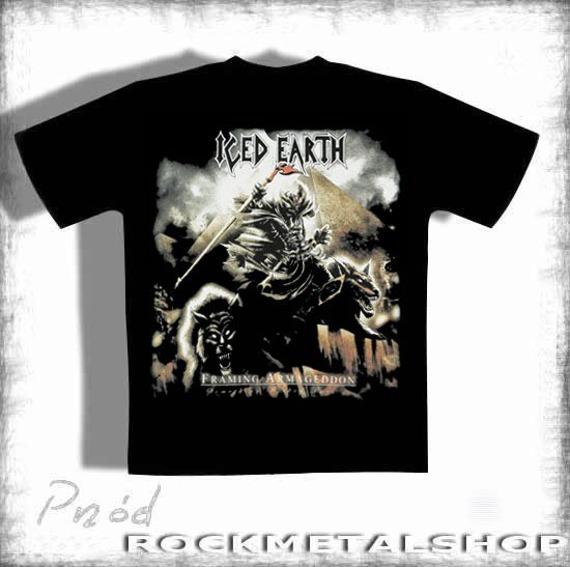 koszulka ICED EARTH - FRAMING ARMAGEDDON