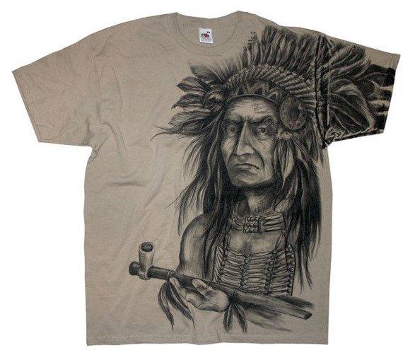 koszulka INDIAN - OLD CHIEF