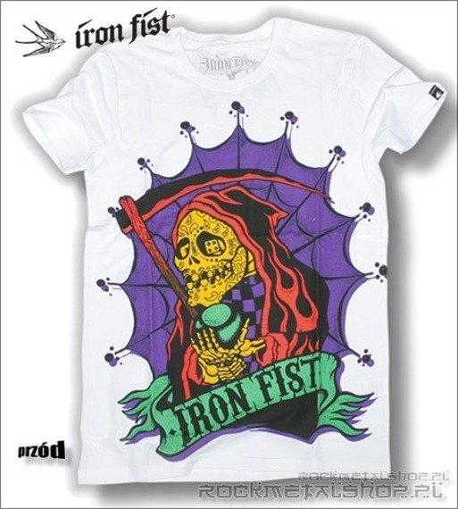 koszulka IRON FIST '09 (Blood or Crypts) (White)