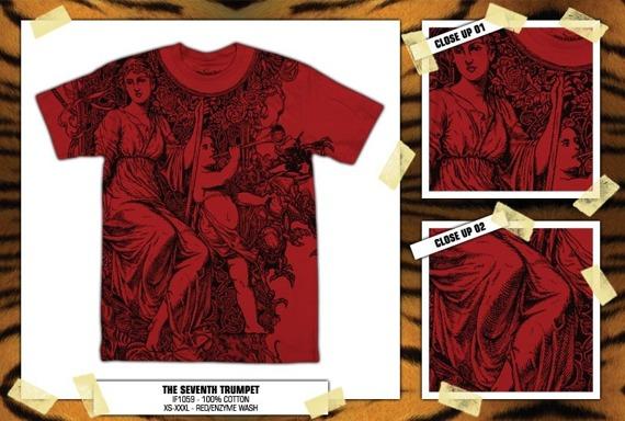 koszulka IRON FIST '09 (The Seventh Trumpet) (Red)