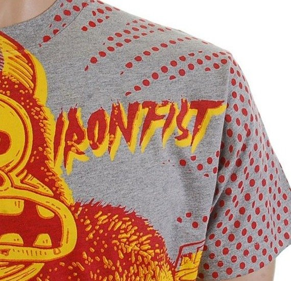 koszulka IRON FIST - HIROSHIMA HOTNIGHTS (GREY HEATHER)