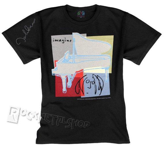 koszulka JOHN LENNON - IMAGINE WITH PIANO