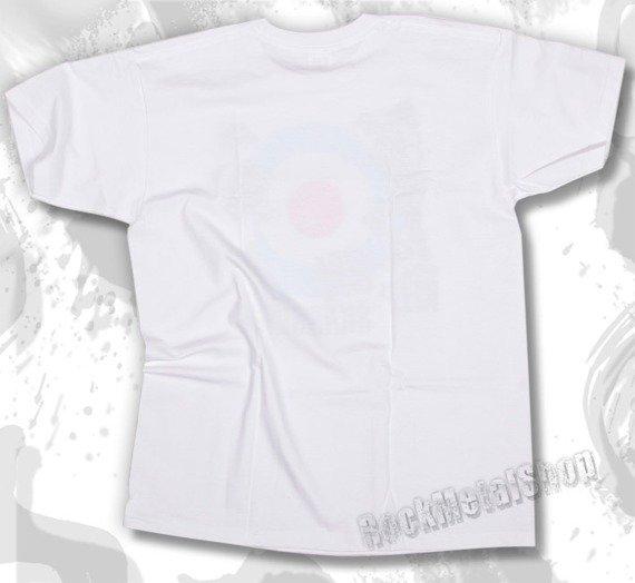 koszulka KEEP ON SKANKIN biała