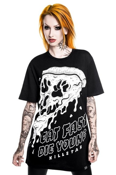 koszulka KILL STAR - EAT FAST