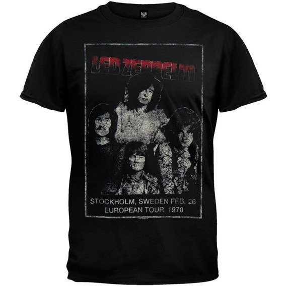 koszulka LED ZEPPELIN - STOCKHOLM