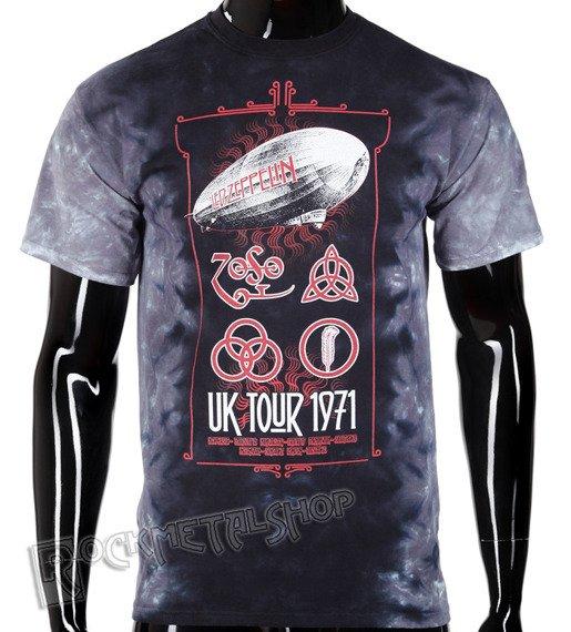 koszulka LED ZEPPELIN - UK TOUR 1971