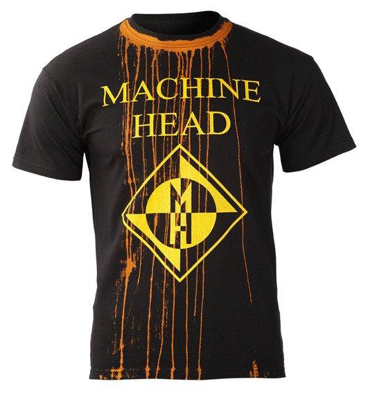 koszulka MACHINE HEAD - LOGO barwiona