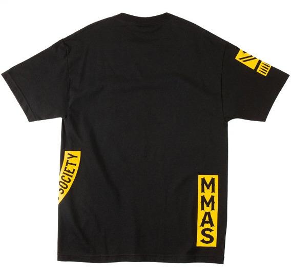 koszulka METAL MULISHA - ARMED SOCIETY PATCHED czarna