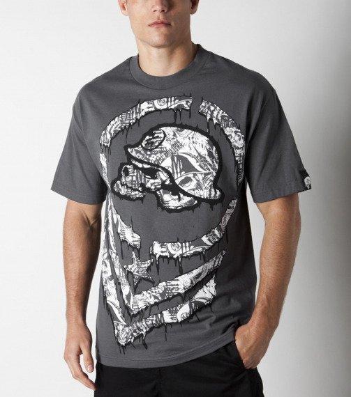 koszulka METAL MULISHA - BIG DEAL szara