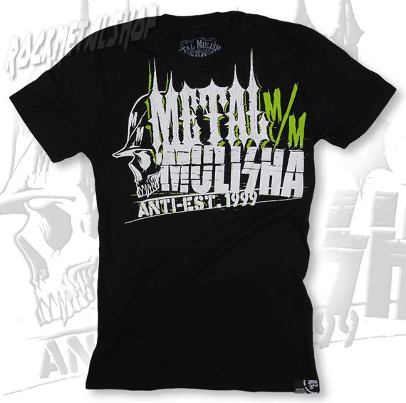 koszulka METAL MULISHA - COMPOSITE-CSTM FIT czarna