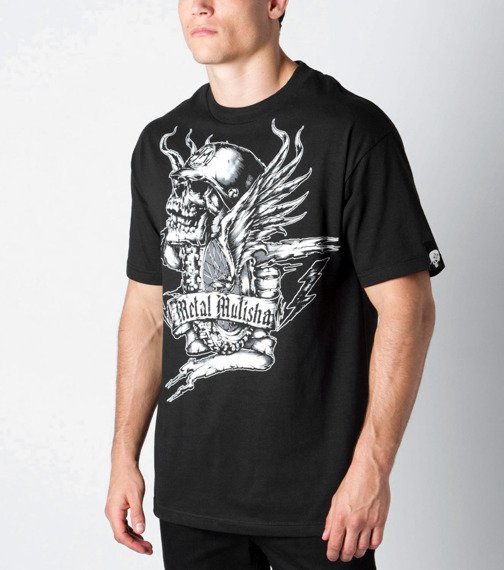 koszulka METAL MULISHA - FLYWHEEL czarna