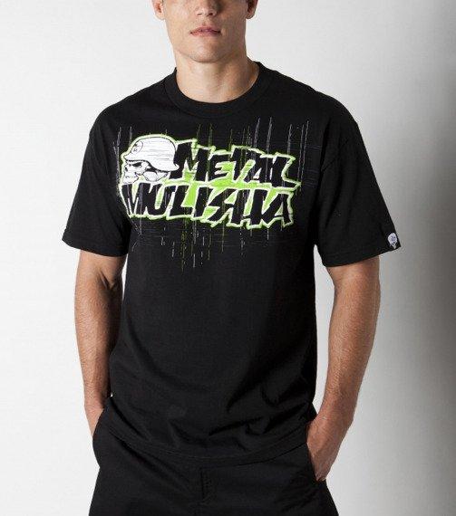 koszulka METAL MULISHA - FREQUENCY GREEN czarna