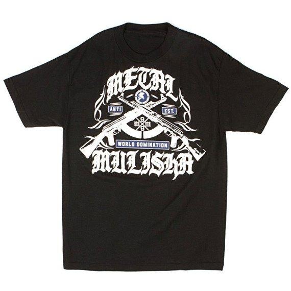 koszulka METAL MULISHA - HEAT czarna