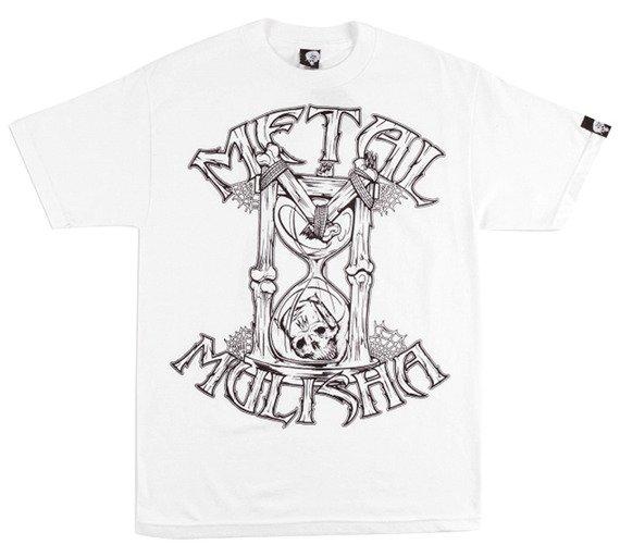 koszulka METAL MULISHA - HOUR GLASS biała