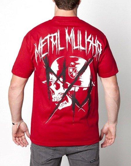 koszulka METAL MULISHA - MUTILATED czerwona