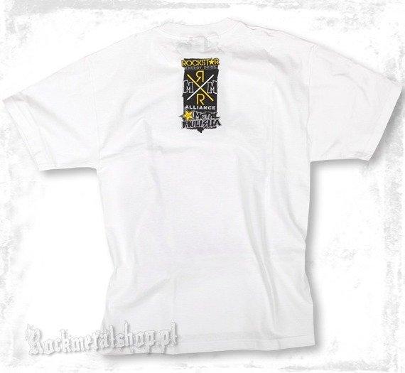 koszulka METAL MULISHA - RS STACK biała
