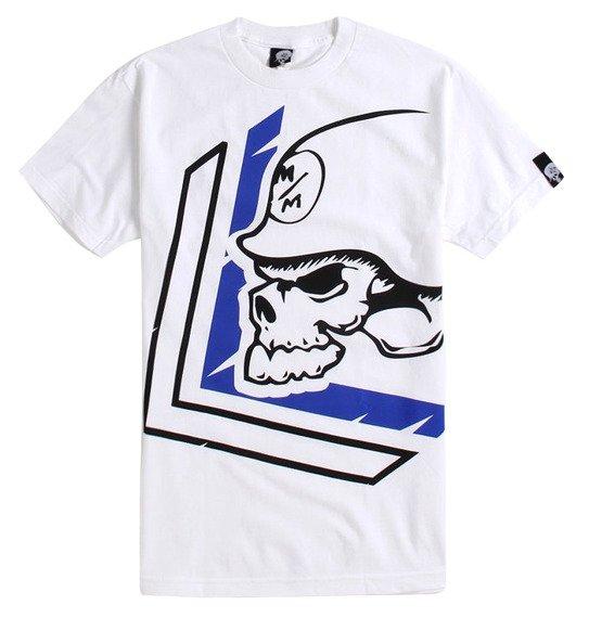 koszulka METAL MULISHA - WARN biała