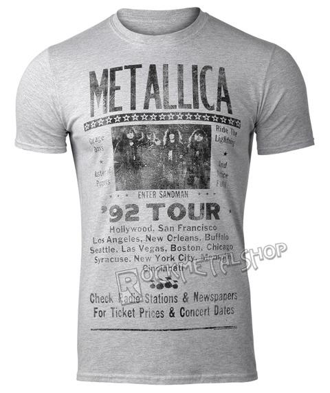 koszulka METALLICA - 92 POSTER
