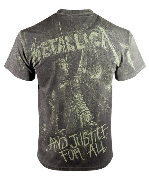 koszulka METALLICA - AND JUSTICE FOR ALL