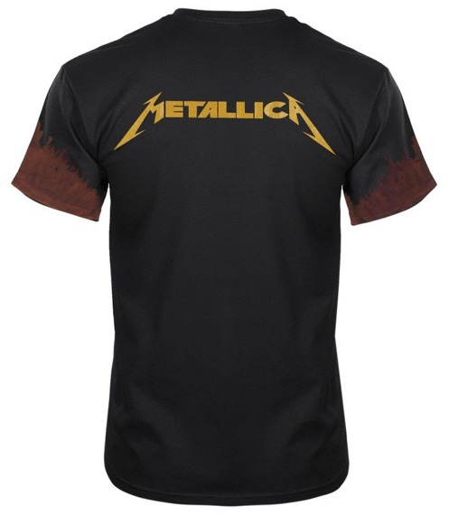 koszulka METALLICA barwiona