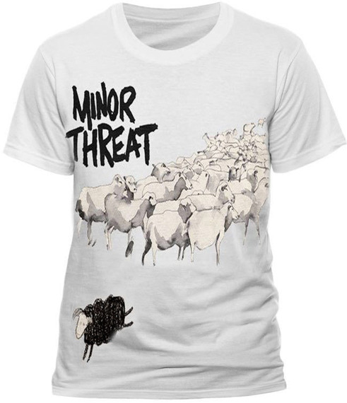 koszulka MINOR THREAT - OUT OF STEP