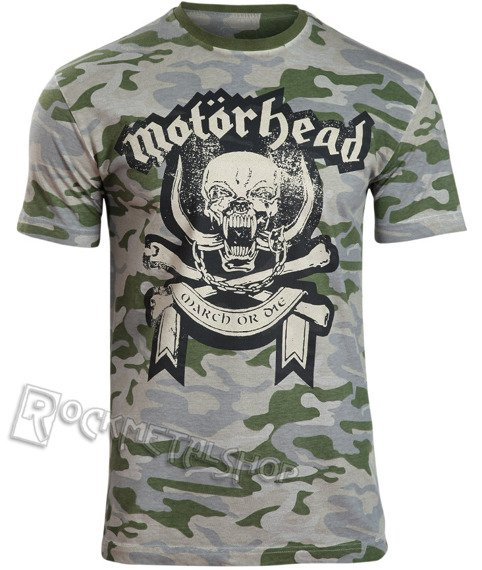 koszulka MOTORHEAD - CAMO