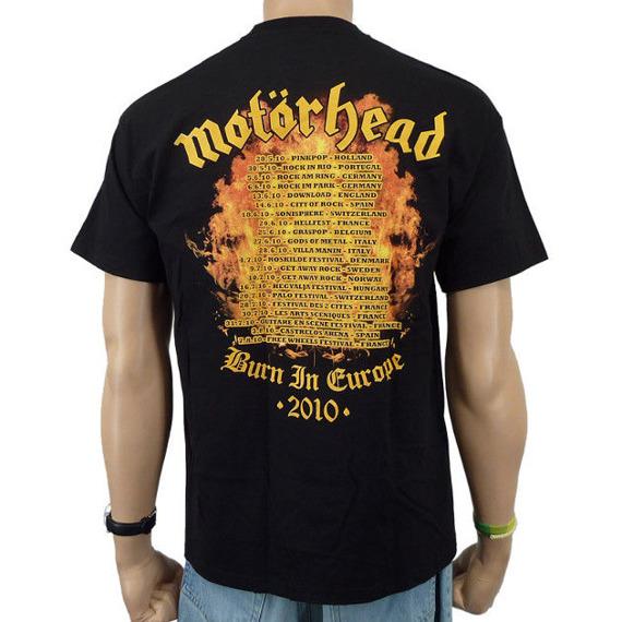 koszulka MOTORHEAD - FLAMES