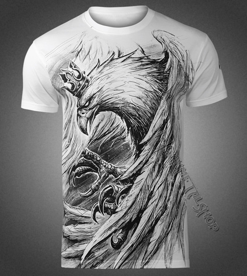 koszulka ORZEŁ POLSKA, biała