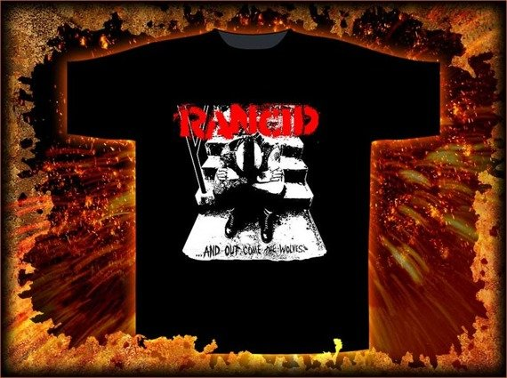 koszulka  RANCID - WOLVES