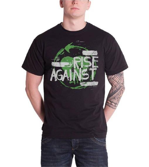 koszulka RISE AGAINST - FREE RISE  BLACK