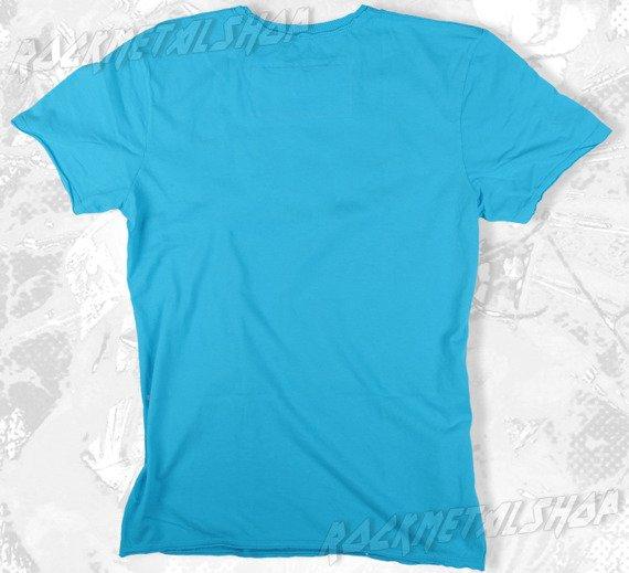 koszulka ROLLING STONES - CLASSIC TONGUE niebieska