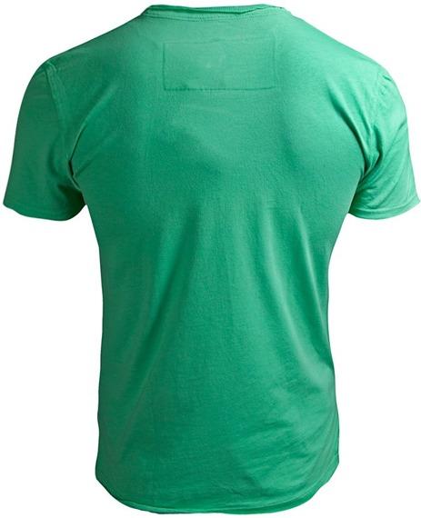 koszulka ROLLING STONES - CLASSIC TONGUE zielona