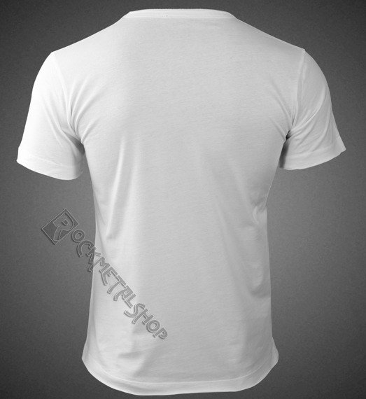 koszulka ROLLING STONES - UK TONGUE WHITE