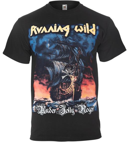 koszulka RUNNING WILD - UNDER JOLLY ROGER