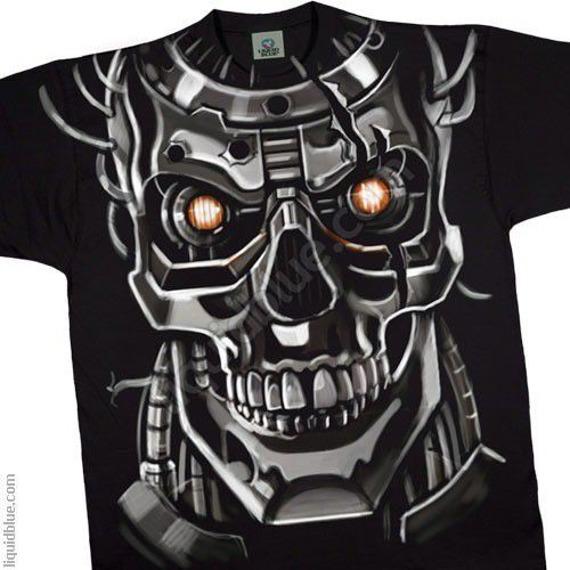 koszulka SKULLS - CYBORG