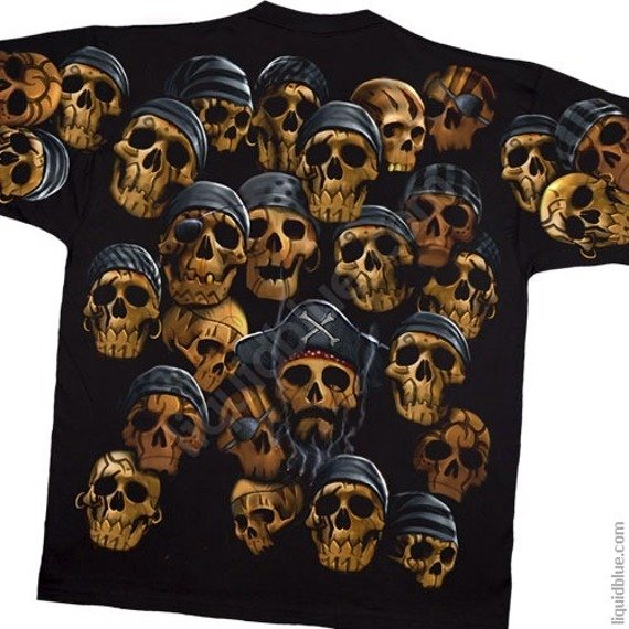 koszulka SKULLS - PIRATE SKULL