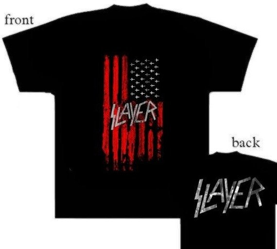 koszulka SLAYER - AMERICAN FLAG