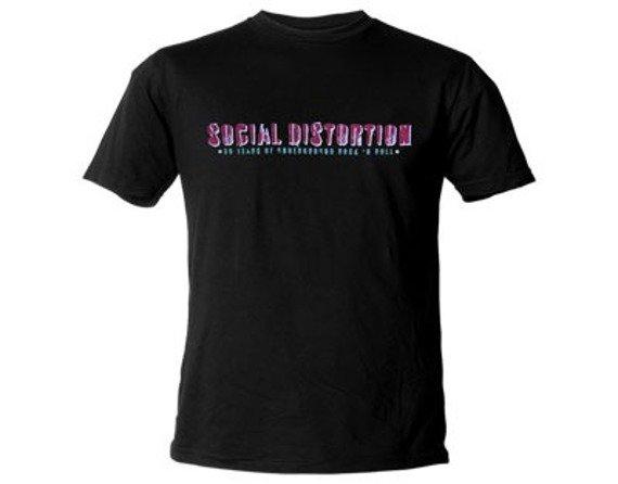 koszulka SOCIAL DISTORTION - 30 YEARS