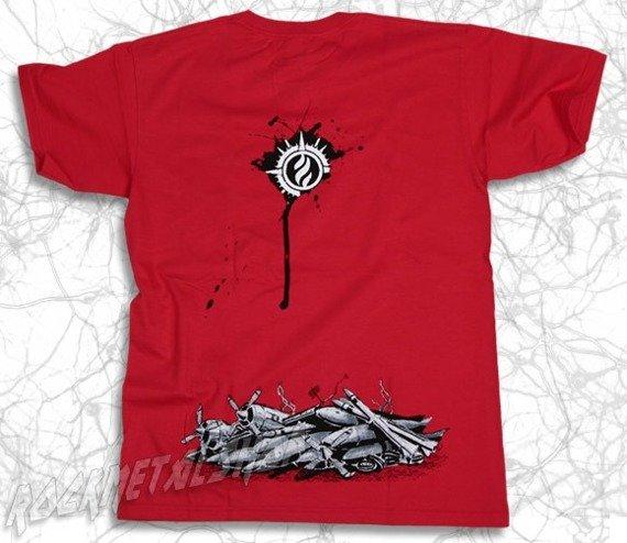 koszulka SONIC SYNDICATE - ONLY INHUMAN czerwona
