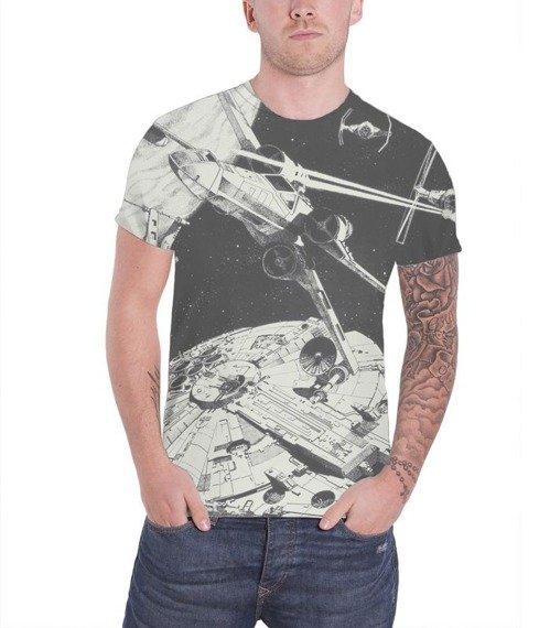 koszulka STAR WARS - SPACE BATTLE