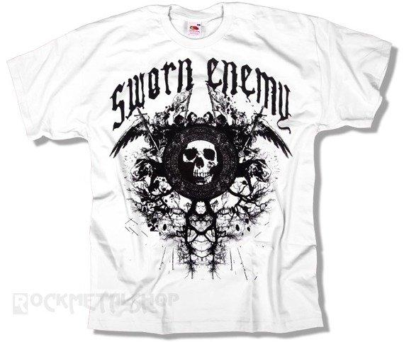 koszulka SWORN ENEMY - WHITE SKULL