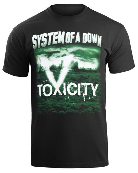 koszulka SYSTEM OF A DOWN - TOXICITY  F. 364