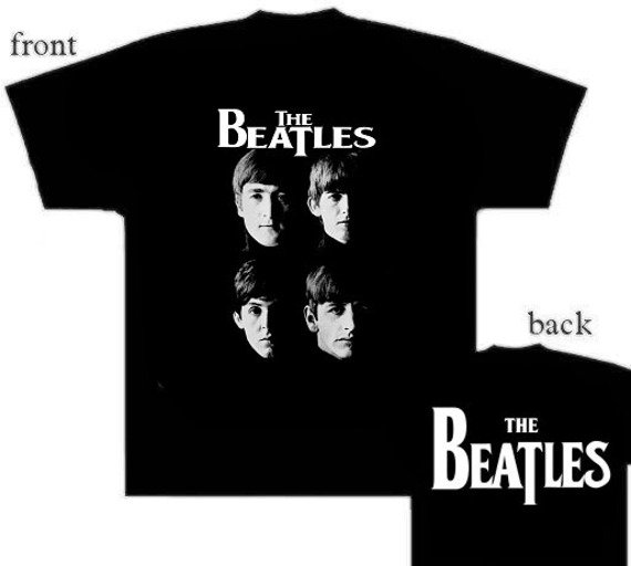koszulka THE BEATLES - FACES