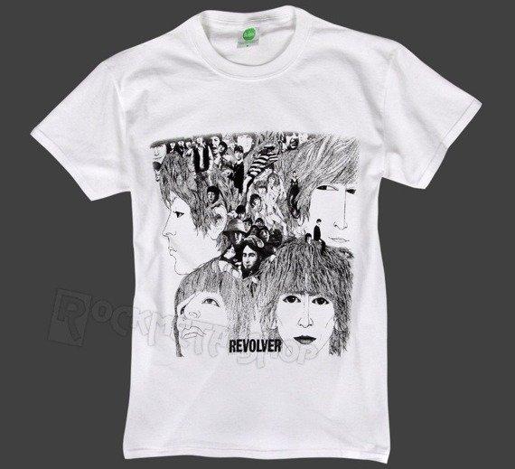 koszulka THE BEATLES - REVOLVER ALBUM COVER