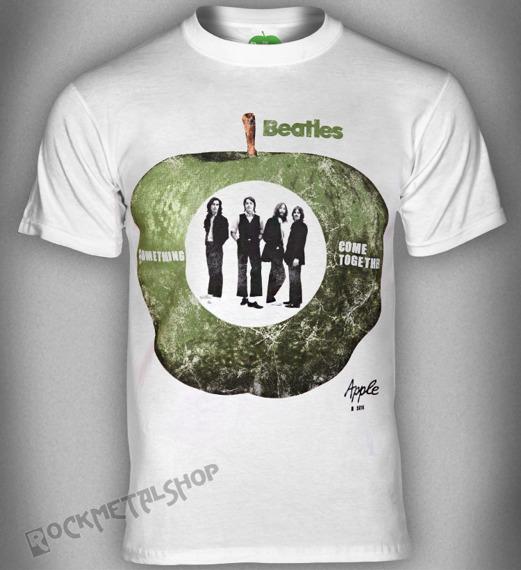 koszulka THE BEATLES - SOMETHING/COME TOGETHER biała