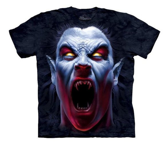koszulka THE MOUNTAIN - AWAKENING, barwiona